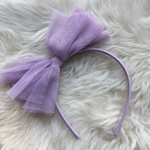 NWOT Gymboree Headband purple sparkles